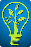 Leaf lamp. Illustration art of a leaf lamp with isolated background vector illustration