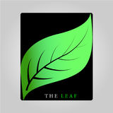 THE LEAF 2017. Leaves are one of the plant organs that grow from the stem, generally green containing chlorophyll and mainly serves as a capture of energy from Royalty Free Stock Photo