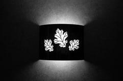 leaf light pattern Στοκ Φωτογραφία