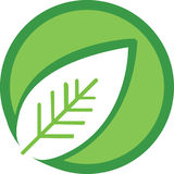 Leaf Logo Stock Photo