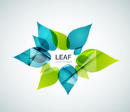 Leaf logo Stock Photos