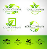 Leaf Logo Concept Royalty Free Stock Image