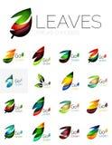 Leaf logo set Stock Images