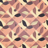 Leaf mosaic Royalty Free Stock Image
