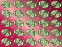 Leaf Motif Background Wallpaper Stock Photos
