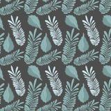 Leaf of natural plant herb botany background. Vector illustration stock illustration