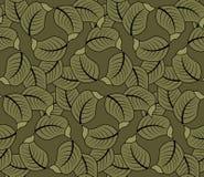 Leaf pattern Stock Photo