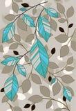 Leaf pattern Stock Image