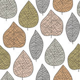 Leaf pattern Royalty Free Stock Images