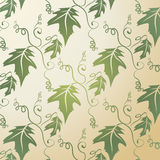 Leaf Pattern Background royalty free stock photos