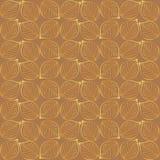 Leaf patterned background Stock Image