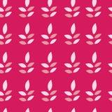 Leaf petals seamless pattern background vector illustration