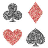 Leaf Playing Card Royalty Free Stock Images