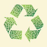 Leaf Recycle Royalty Free Stock Photos