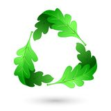Leaf Recycle Symbol Stock Image