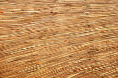 Leaf on roof weave Stock Photos