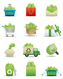 Leaf Saving Icon Set -- Premium Series Royalty Free Stock Photography
