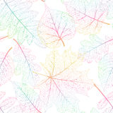 Leaf seamless abstract background. EPS 10. Vector file included Vector Illustration