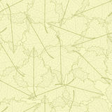 Leaf seamless background. Stock Photos