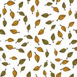 Leaf seamless pattern background. Leaf texture seamless pattern background Stock Photos
