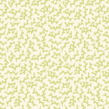 Leaf seamless pattern. Floral stylish background. Royalty Free Stock Photography
