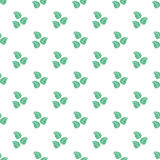 Leaf seamless pattern Stock Photography