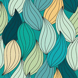 Leaf seamless  pattern Royalty Free Stock Images