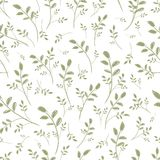Leaf seamless pattern for your design Stock Photos