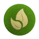 Leaf sphere Stock Photo