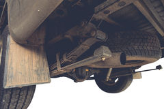 Leaf Spring truck Stock Photo