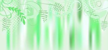 Leaf, spring vector banner Stock Image