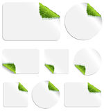 Leaf Stickers Royalty Free Stock Photography