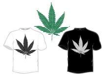 Leaf t-shirt Stock Photos