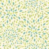 Leaf texture seamless pattern background stock illustration