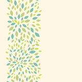 Leaf texture vertical seamless pattern background Stock Images