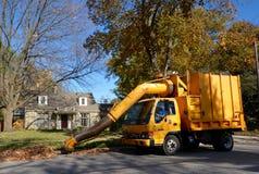 Leaf Vacuum Truck Royalty Free Stock Photo