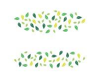 Leaf vector icon royalty free illustration