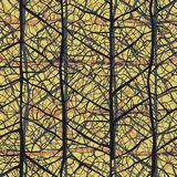 Leaf veins seamless texture pattern Royalty Free Stock Photo