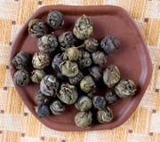 leafen loose tea Arkivfoton