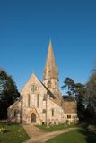LEAFIELD, OXFORDSHIRE/UK - 24. MÄRZ: St Michael und alle Engel Stockfoto