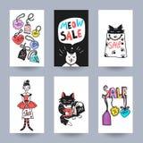 Leaflet bargain sale vector Stock Images