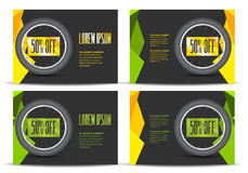 Leaflet with bicycle wheel Royalty Free Stock Images