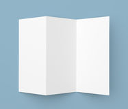 Cardboard document holder stock photos images pictures for Cardboard brochure holder template