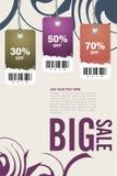 Leaflet design Royalty Free Stock Photography