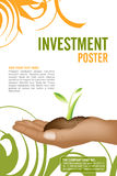 Leaflet design Stock Photography