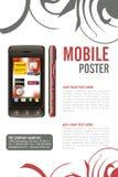 Leaflet design Stock Photo