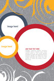 Leaflet design. Editable Leaflet template design Stock Photo