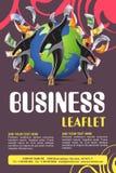 Leaflet design Royalty Free Stock Photo