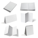 Leaflet notebook Royalty Free Stock Photo