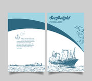 Leaflet, reefer Forward Royalty Free Stock Photography